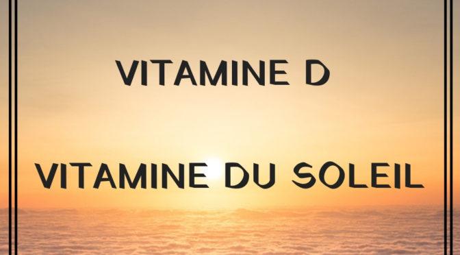Ne prenez plus                                                   De  vitamine D                                          sans lire cet article